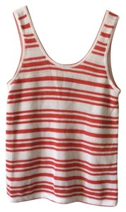 Rag & Bone Top Red, white
