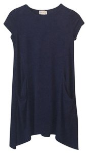 Enough About Me... short dress Navy Blue on Tradesy