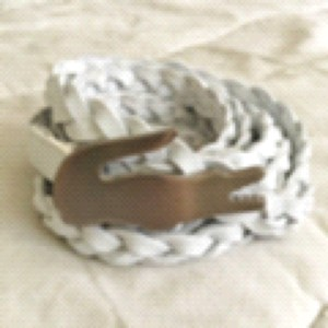 Lacoste Lacoste Wrap Around Braided Belt