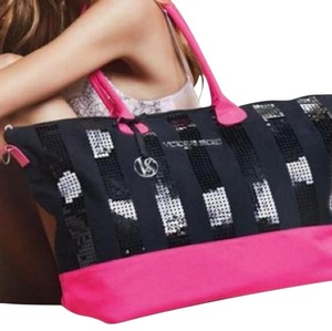 Victoria's Secret Limited Edition Tote in Black/Pink