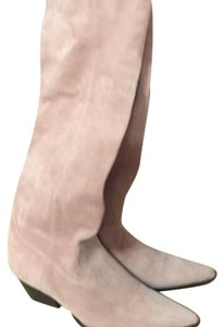 MICHAEL Michael Kors Light pink suede boot Boots