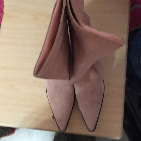 MICHAEL Michael Kors Light pink suede boot Boots Image 2