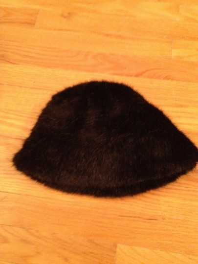 GIlly Forge London Gilly Forge of London Black Faux Fur Hat