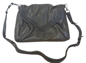 Ameko Leather Cross Body Bag