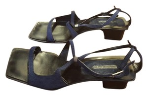 Enrico del Gntto Blue Sandals