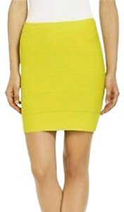 BCBGMAXAZRIA Skirt Bright Lemon