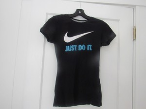 Nike Just Do It T Shirt black