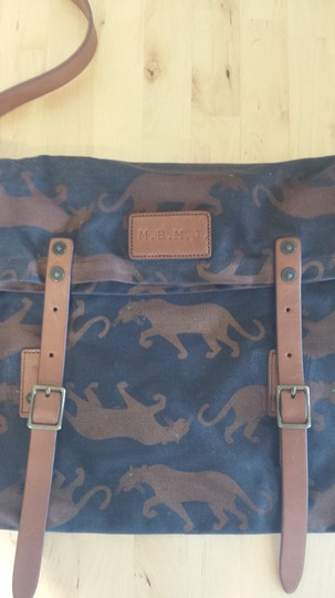 Marc by Marc Jacobs Leather Canvas Cross Body Bag
