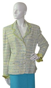 St. John Blue green Blazer