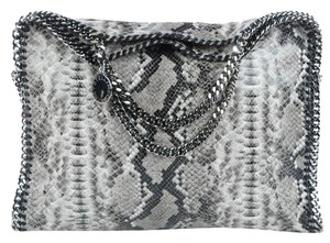 Stella McCartney Elegant Large Handbags Tote in Python Print