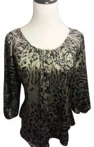Express Top Silver, Black Pattern