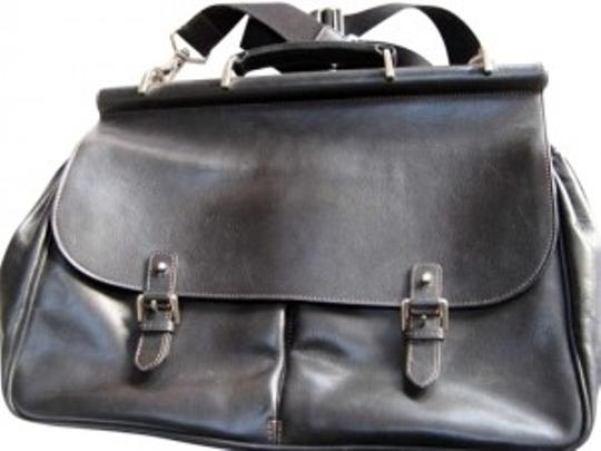 Preload https://item3.tradesy.com/images/very-dark-brown-leather-exterior-cloth-lined-interior-laptop-bag-165057-0-0.jpg?width=440&height=440