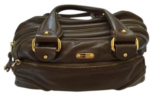 Marc Jacobs Vintage Leather Satchel in Brown