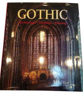 Gothic Architecture Volume; , Sculpture & Painting Table Volume [Roxanne Anjou Closet]