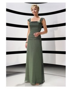 Alyce Paris Clover Green 29327 Bridesmaid/Mob Dress Size 24 (Plus 2x)