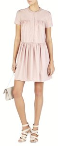 BCBGMAXAZRIA short dress shadow blush on Tradesy