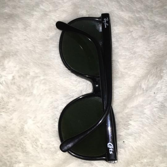4c65141f4f5a4 Ray-Ban Vintage Ray Ban Cats Bausch   Lomb Black Frame France Nylon Image 4