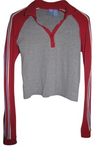 Roxy Longsleeve T Shirt Gray, Red, Blue, White