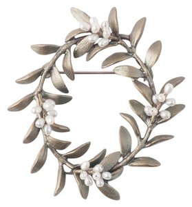 Michael Michaud Jewelry Michael Michaud Jewelry Flowering Myrtle Brooch Pin