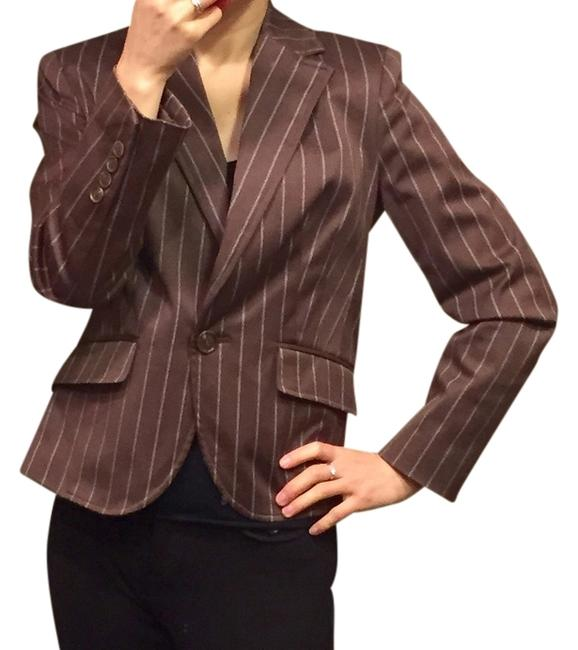Preload https://item4.tradesy.com/images/worthington-brown-white-pinstriped-blazer-size-petite-2-xs-1650708-0-0.jpg?width=400&height=650