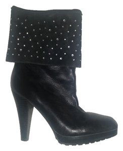 Curations Leather Black Boots
