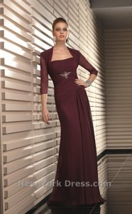Mori Lee Wine 70613 Dress