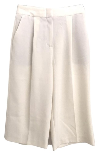 Item - White Tailored Culottes Shorts Size 2 (XS, 26)