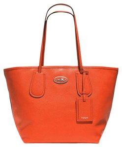 Coach Park Metro 25028 Tote in Coral