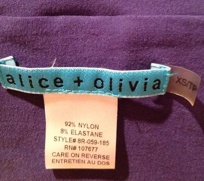 Alice + Olivia Top Purple Image 8