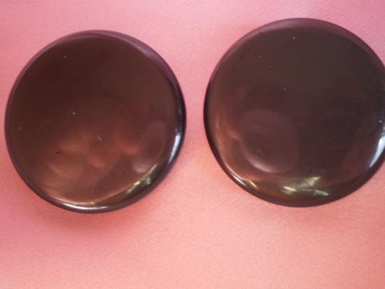 Other Vintage button clip-on earrings