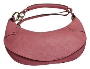 Gucci Handbag Leather Hobo Bag