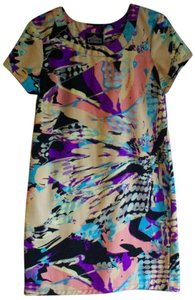 Urban Outfitters short dress MULTI Shift Summer Print Short Sleeve on Tradesy