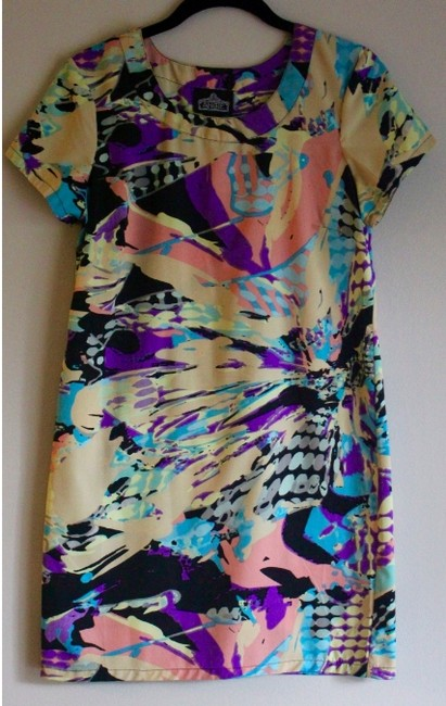 Urban Outfitters short dress MULTI Shift Summer Print Short Sleeve on Tradesy Image 1