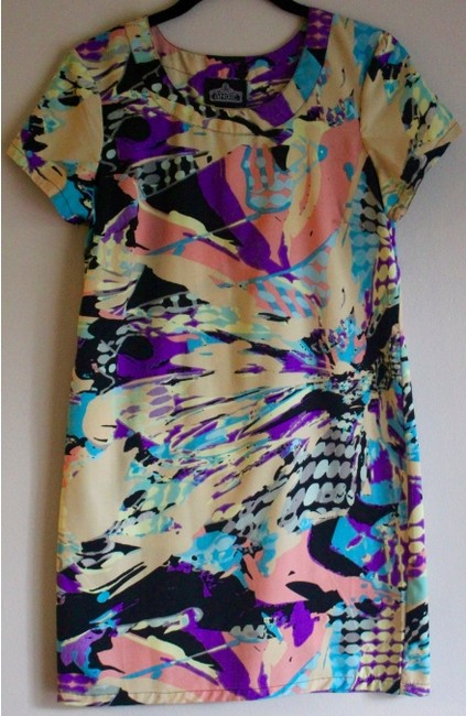Urban Outfitters short dress MULTI Shift Summer Print Short Sleeve on Tradesy Image 2
