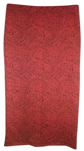 Jack Long Casual Maxi Skirt Red