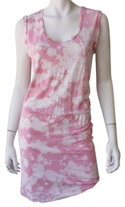 LNA short dress Pink Fitted Tie Dye on Tradesy