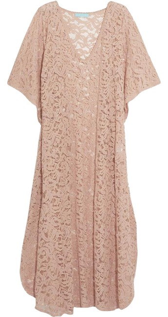 Item - Beige Lace Abigail Kaftan Cover-up/Sarong Size OS (one size)