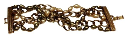 Other Pearl Chain Tangled Bracelet