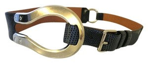 Ralph Lauren Collection Ralph Lauren Lizard leather looped belt