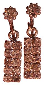 Other Vintage crystal clip-on earrings