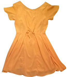 Treasure by Samantha Pleet short dress Canary Yellow on Tradesy
