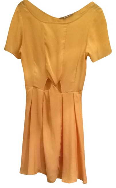 Treasure by Samantha Pleet short dress Canary Yellow Summer on Tradesy