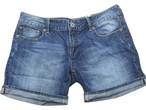 Buffalo David Bitton Cuffed Shorts Medium light wash