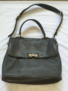 Marc by Marc Jacobs Leather Satchel in Grey