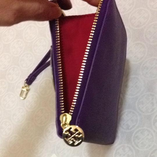 Tory Burch Wristlet in Violet
