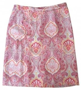 Banana Republic Skirt Multi colored paisley