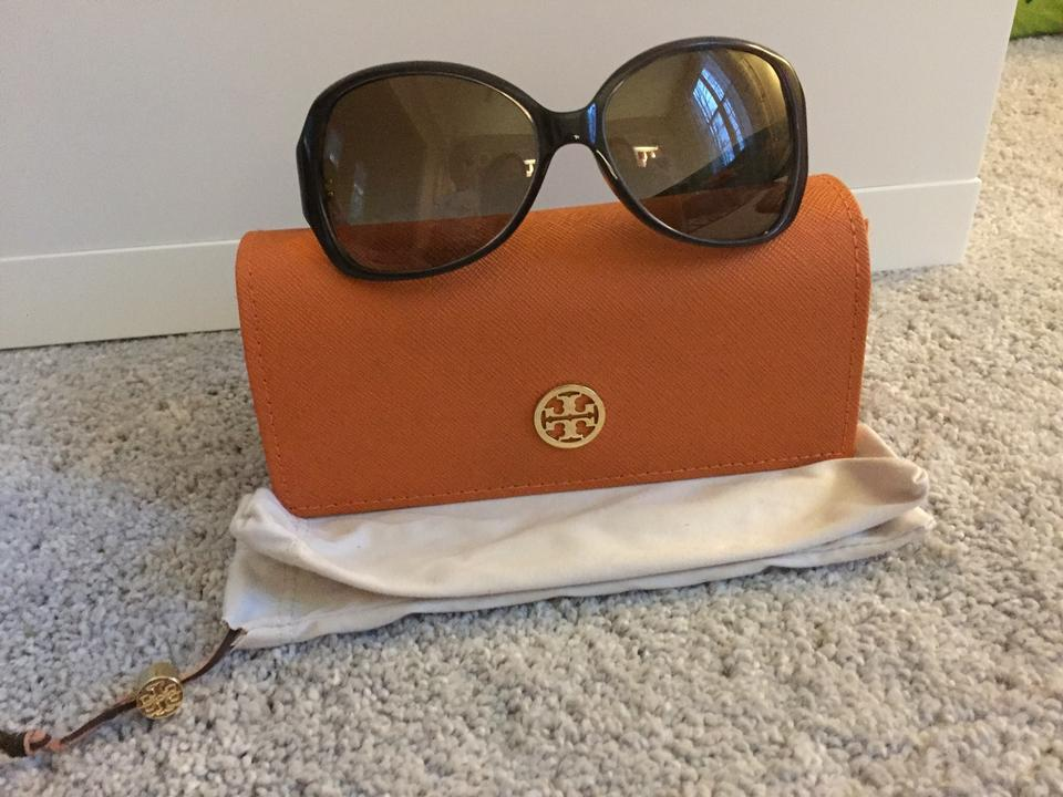 be2f07a904d2 Tory Burch Brown with Tortoise On Inside Ty7019 Sunglasses - Tradesy
