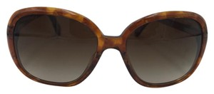 Chanel Brown and Gold Chanel Sunglasses 5244 1389/S5