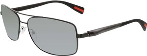 Parada Parada PS50OS-1BO7W1 Men's Black/Grey Lens Sunglasses