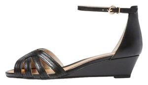 Seychelles Strappy Short Wedge black Wedges